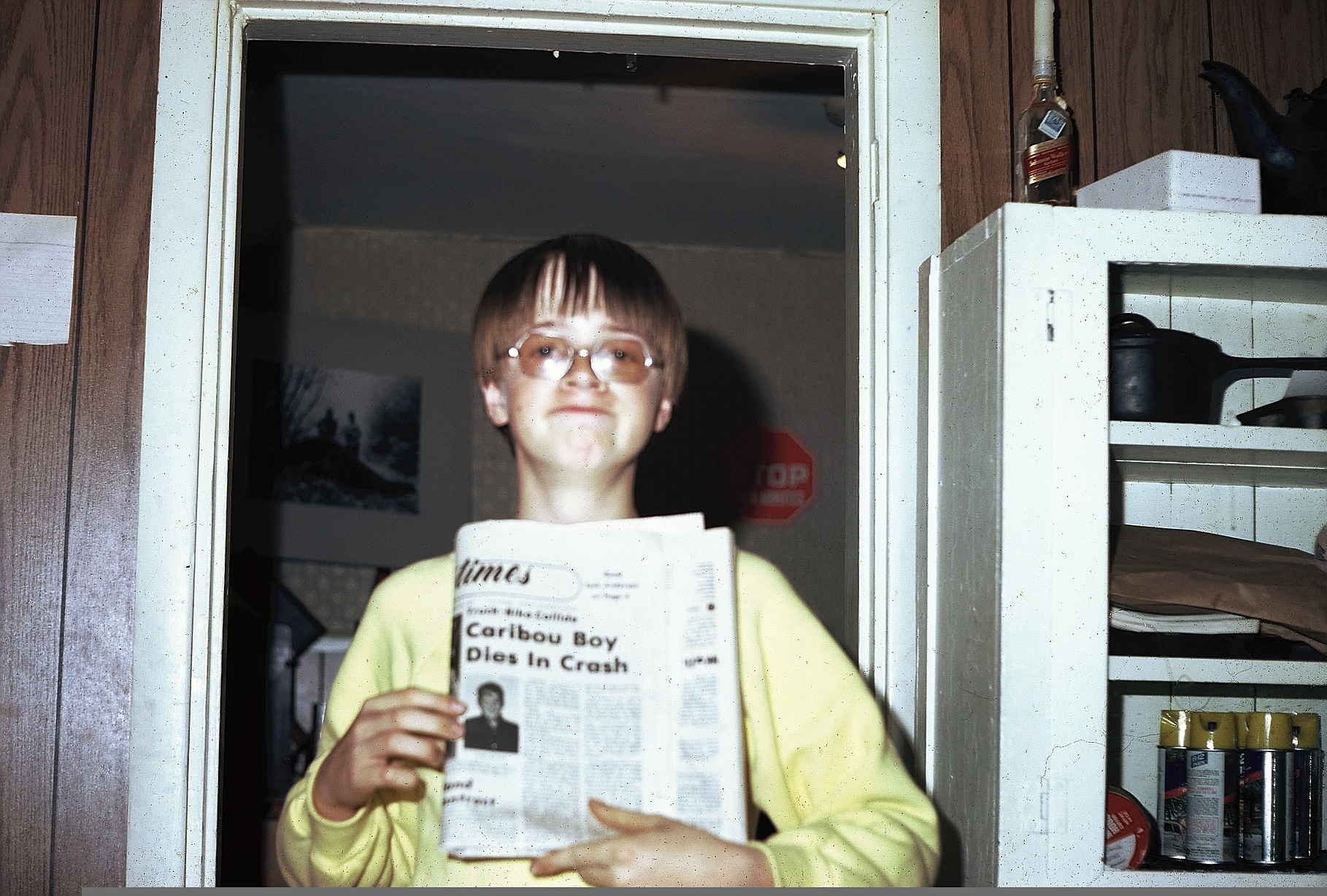 12 year old Joe Wilcox and news of friend's death