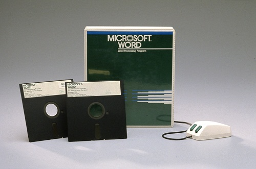 Microsoft Word 1.0 (Photo Courtesy of Microsoft)