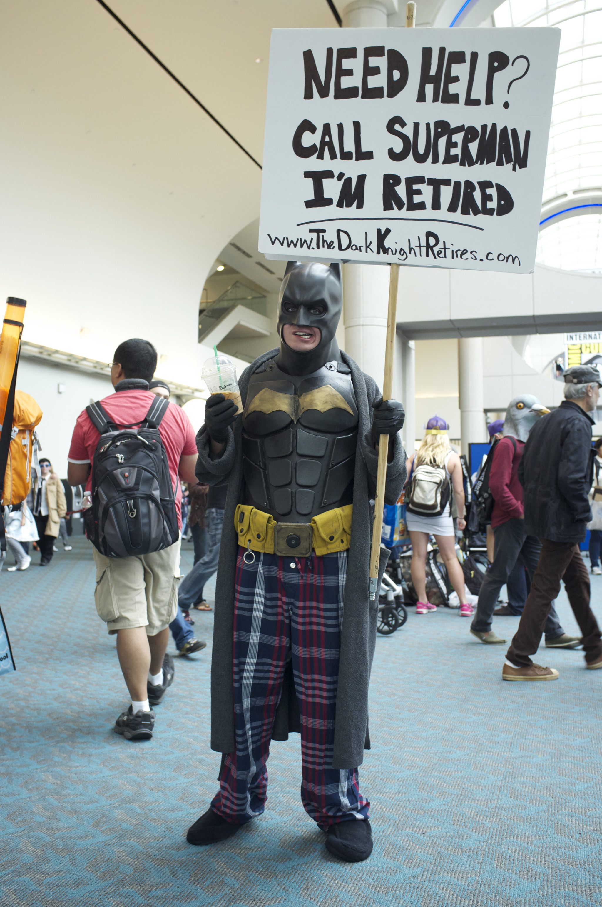'Batman Retires', from Comic-Con 2013.