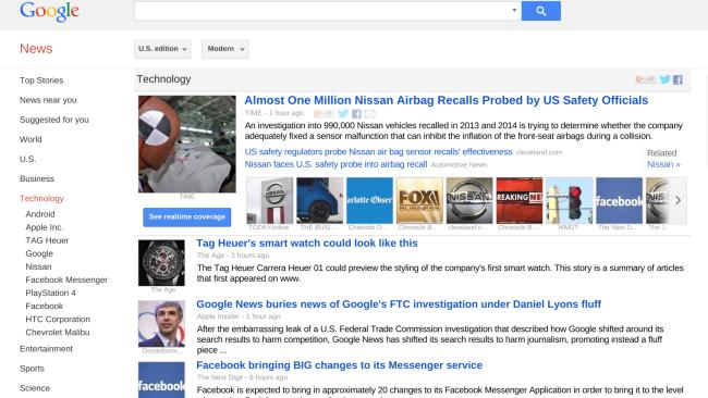 Google News 3-22-15