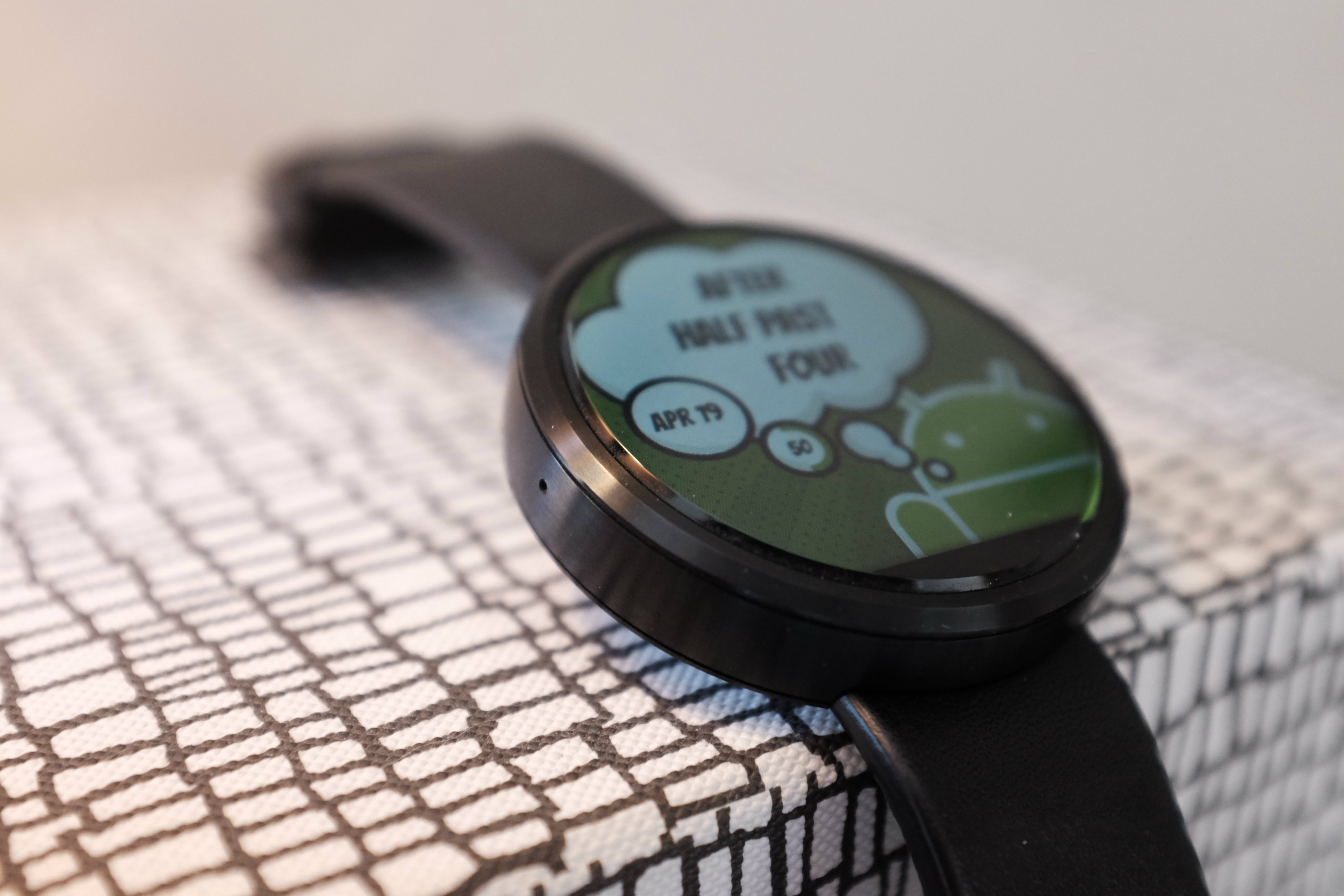 Moto 360 Android Face