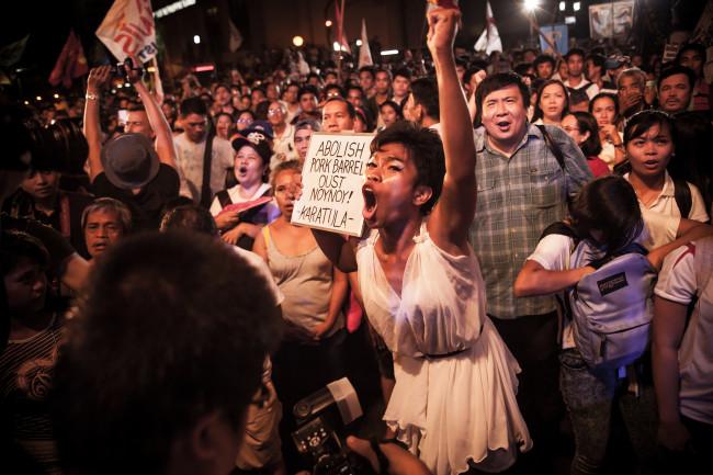 Philippine Protest Pork Barrel