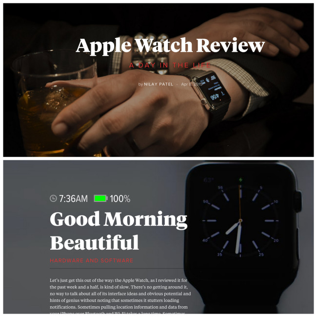 The Verge Apple Watch Review
