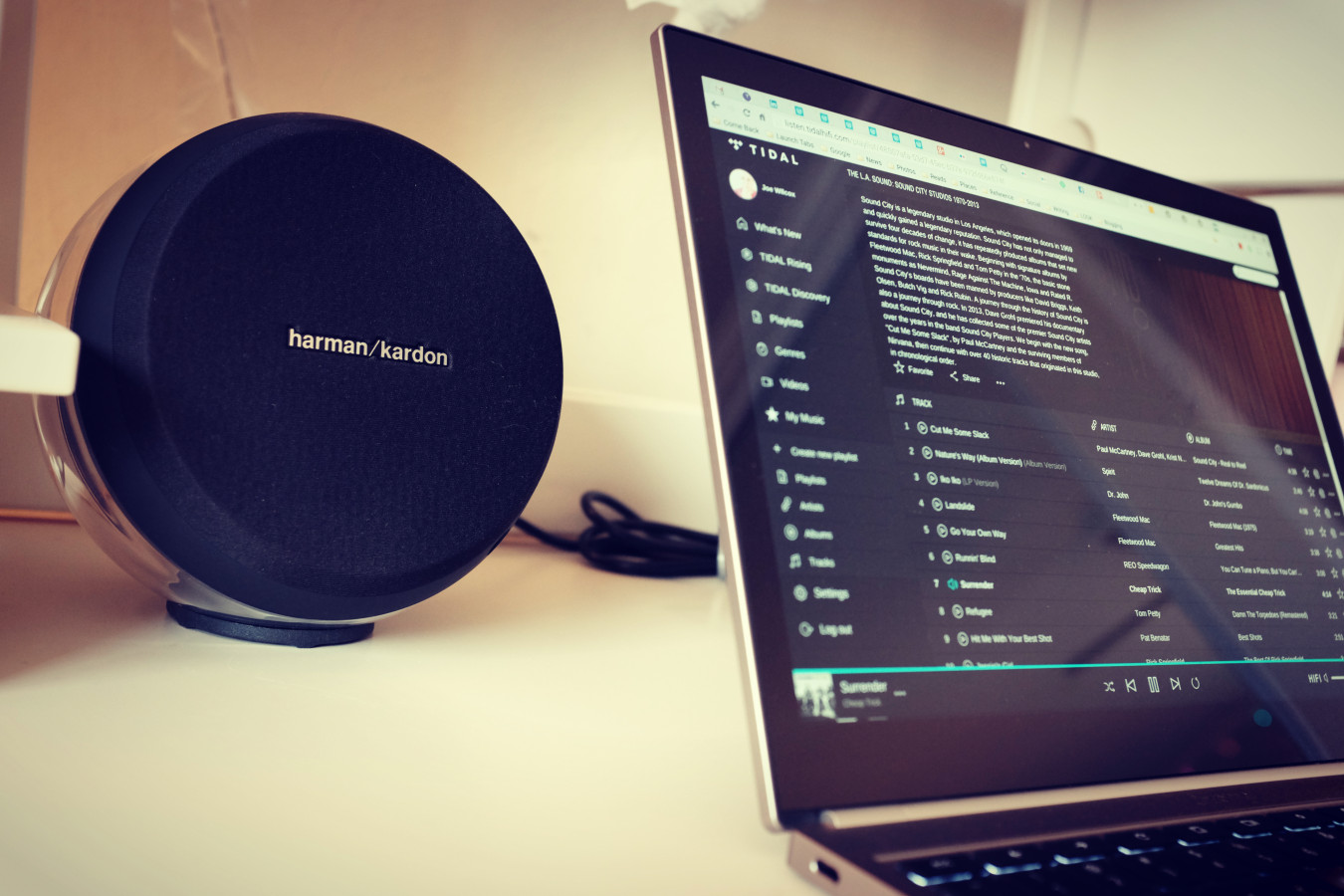 Harman Kardon Nova and Chromebook Pixel Jennifer LS