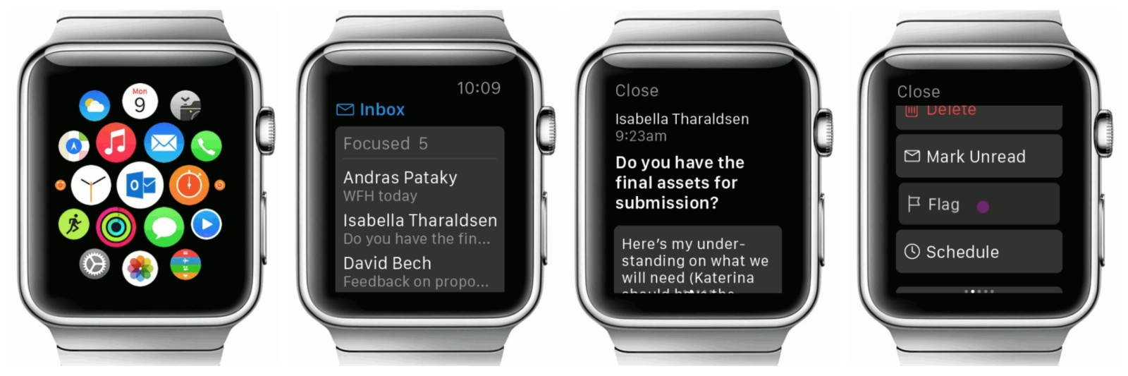 Microsoft Outlook for Apple Watch