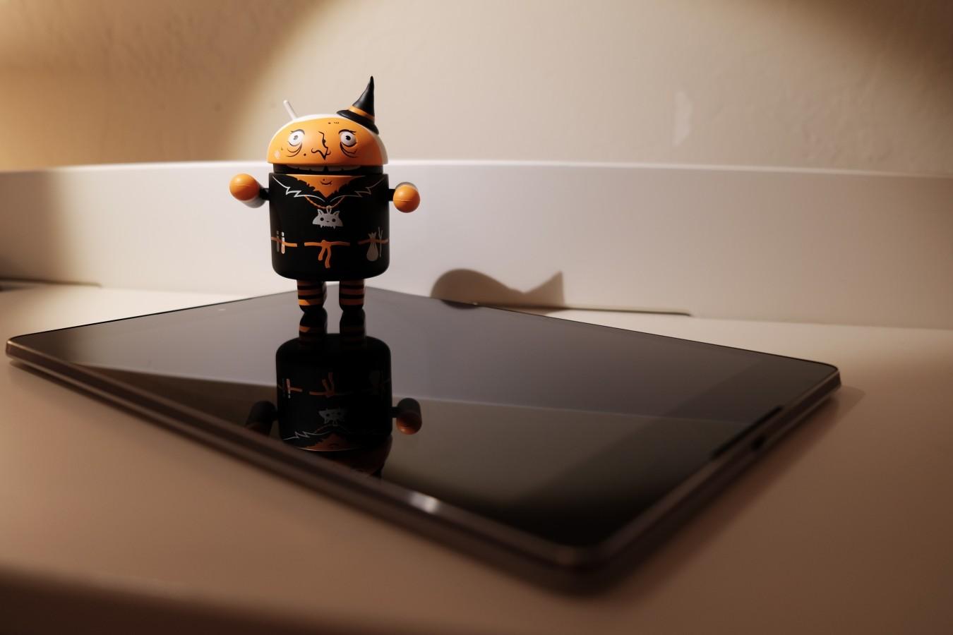 Android Collectible Halloween Nexus 9