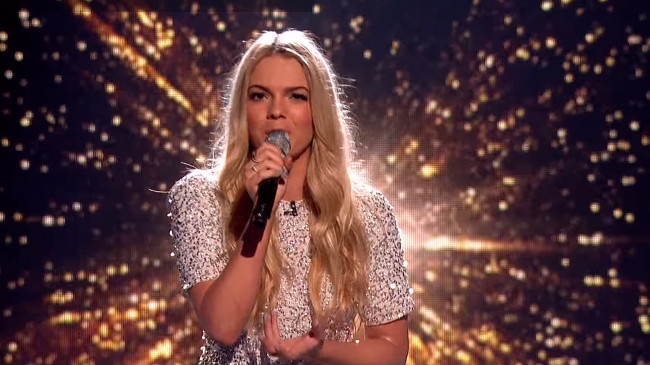 X Factor UK Contestant Louisa Johnson