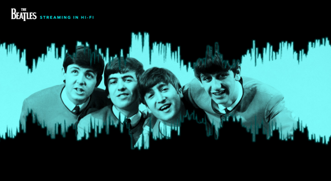 The Beatles on Tidal in Hi-Fi