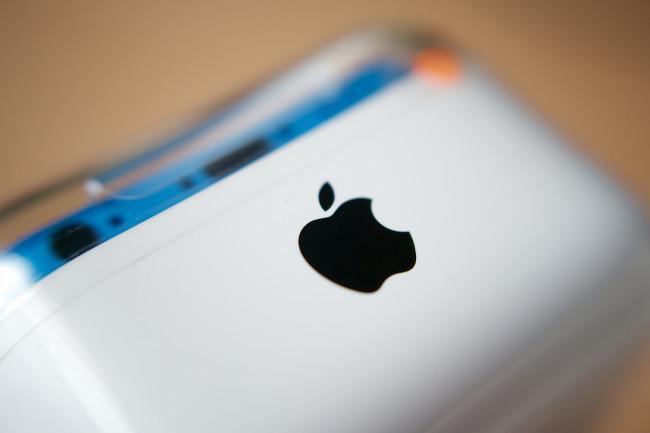 iPhone 5c Apple Logo