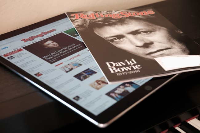iPod Pro Rolling Stone