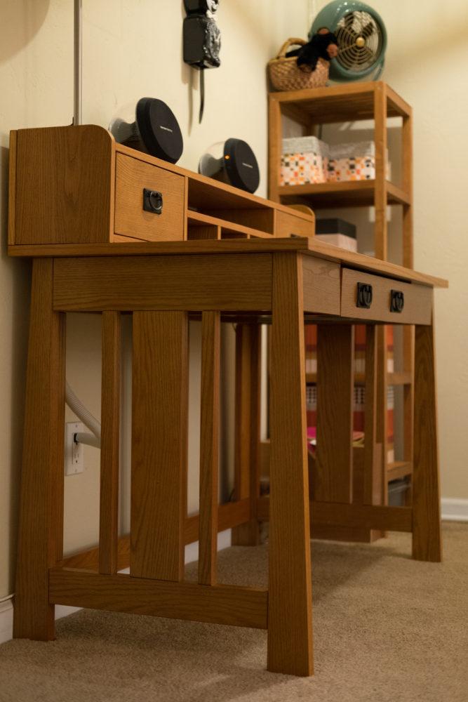 Belham Desk and Hutch Set
