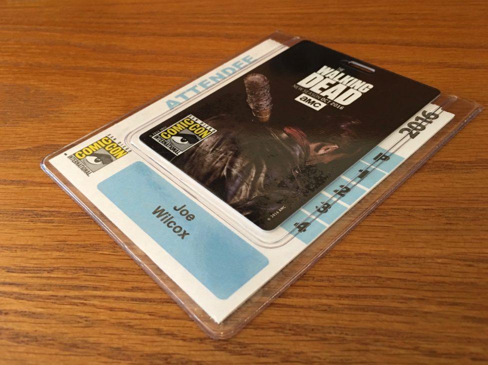 Comic-Con 2016 Badge