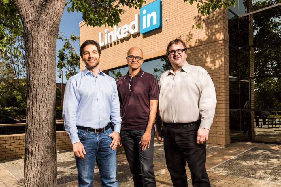 LinkedIn Microsoft Leadership
