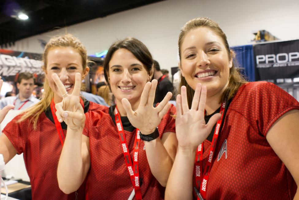 Star Trek Booth Babes